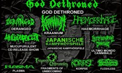 "Germany's Heidelberg DeathFest ""HDDF"" 2017 am 11.3."