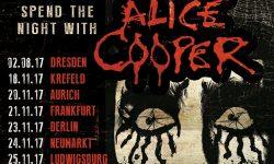 Alice Cooper live auf Tour 2017