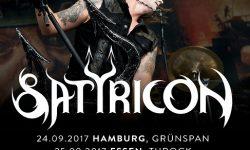 Satyricon mit neuem Album auf Europa-Tour im Sep/Okt ´17