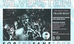 SILVERSTEIN – FOR THE FANS TOUR 2017