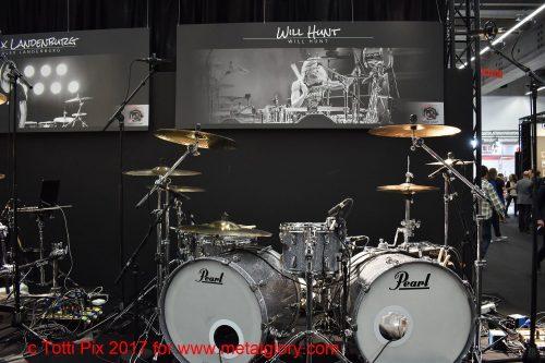 Drum Kit -Pearl- Will Hunt