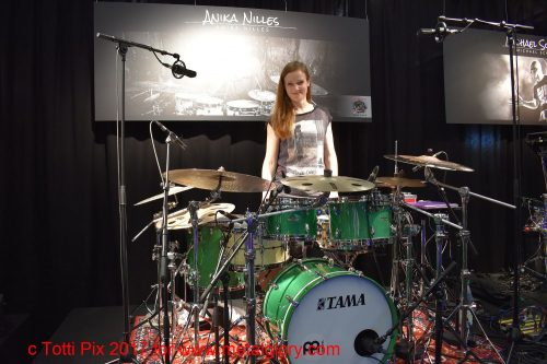Drum Kit -Tama -Anika Nilles