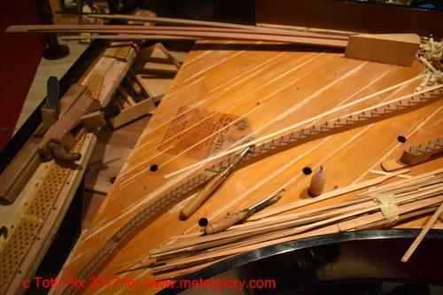 Frühere Klavier- Restaurierung (3)