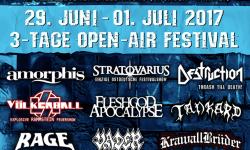 Metal Frenzy Festival Am Erlebnisbad in Gardelegen 29. Juni – 01. Juli 2017