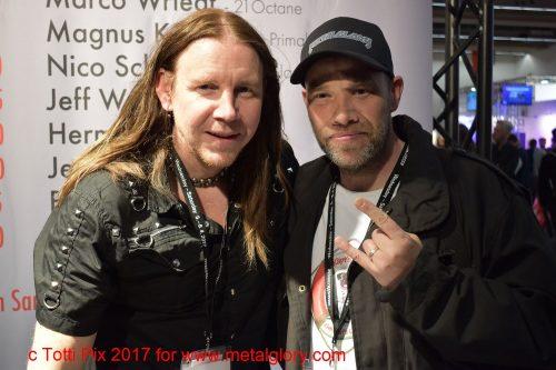 Magnus Karlsson (Primal Fear) & Me