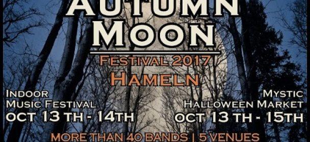 AUTUMN MOON – Festival: FRONT 242 / HEPPNER / WITT / FAUN u.v.a.