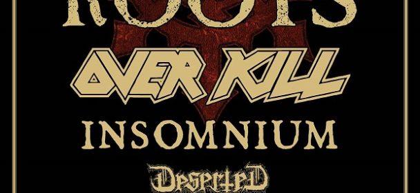 Vorbericht: MTV Headbangers Ball Tour 2017 – ROOTS, OverKill, Deserted Fear & Insomnium
