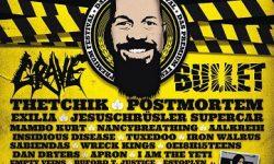 """Grave und Bullet bei """"Tank mit Frank""""-Festival 2017 in Münster Sprakel"""
