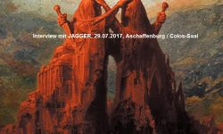 Interview: mit Jagger von Disbelief, 29.07.2017, Aschaffenburg / Colos-Saal