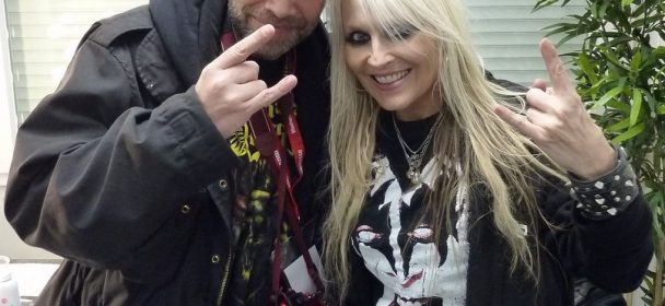 Interview: DORO 12-08-2017, Hanau / Amphitheater