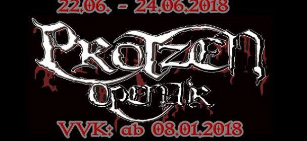 Protzen Open Air 2018  – die ersten Bands stehen fest!