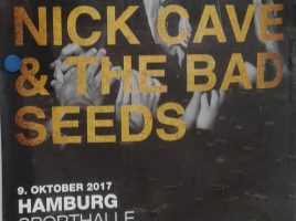 NICK CAVE & THE BAD SEEDS – Hamburg, Sporthalle am 09.10.2017