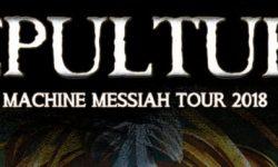 SEPULTURA – kündigen »Machine Messiah Tour 2018« an