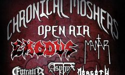 Chronical Moshers Open Air 2018: 1000 Karten schon weg, fast vor sold out !!!