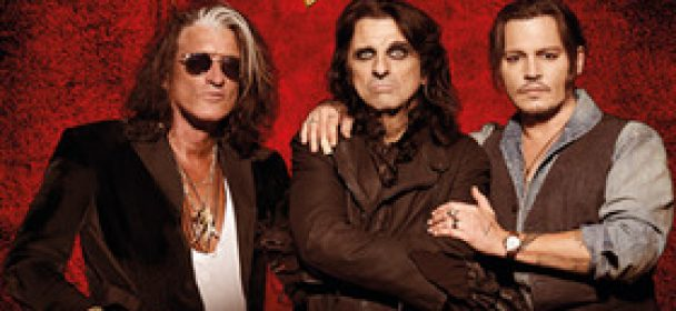 HOLLYWOOD VAMPIRES: Joe Perry, Alice Cooper & Johnny Depp im Juni 2018 in Deutschland unterwegs