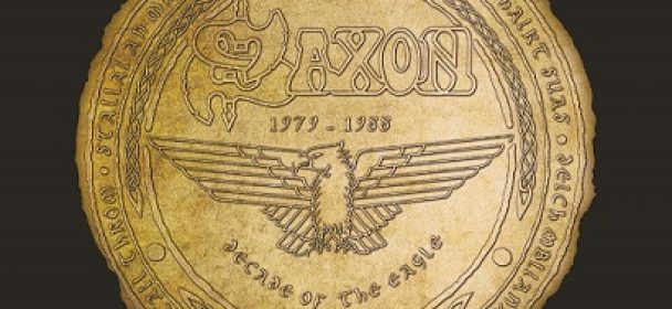 "Saxon-Anthologie ""A Decade Of The Eagle"" am 17.11.2017 als Doppel-CD und 4LP-Edition"