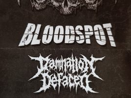 DAMNATION DEFACED, 15-12-2017, Mainz / M8 Liveclub (Support für DISCREATION)