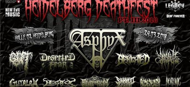 "Heidelberg Deathfest ""HDDF"" 2018 – Part III: Support Your Local Death!"