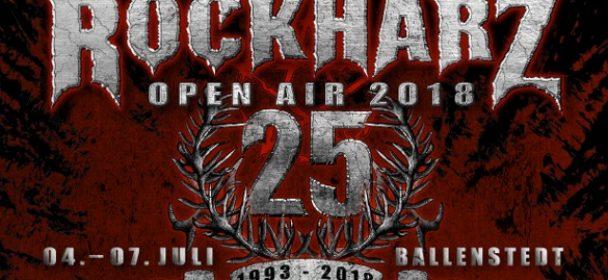 ROCKHARZ 2018: Noch einmal sechs neu bestätigte Bands