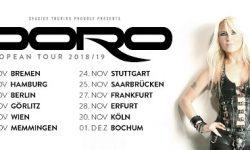 Metal-Queen Doro geht 2018 auf ausgedehnte Tour