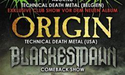 Easter Bash Magdeburg am 01.04.2018 mit Aborted, Origin, Blackest Dawn & Organism