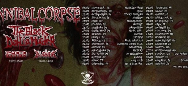 Vorbericht: CANNIBAL CORPSE, THE BLACK DAHLIA MURDER – Tour 2018