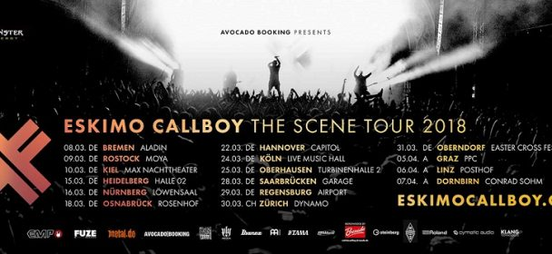 Vorbericht: ESKIMO CALLBOY – The Scene Tour 2018