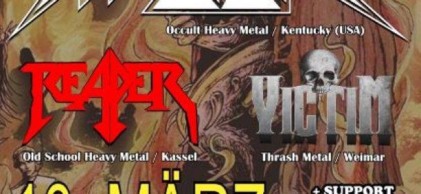 Savage Master +REAPER & VICTIM am 10.3. in Kassel  LIVE