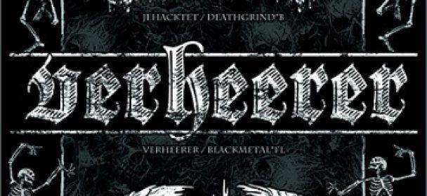 Vorbericht: Mixed Metal Arts (VERHEERER, JEHACKTET, FUCKING HOSTILE), 03.03.2018 Rostock JAZ