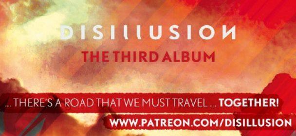 DISILLUSION – Crowdfunding und neues Album