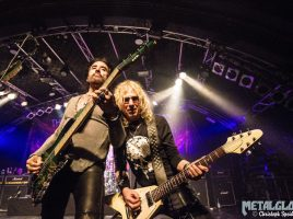 """The Dead Daisies"", Support ""The New Roses"", Markthalle Hamburg, 18. April 2018"